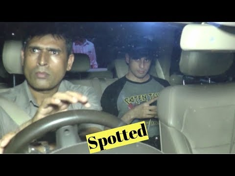 Sidharth Malhotra Spotted At Dr. R.K. Agrawal Clinic