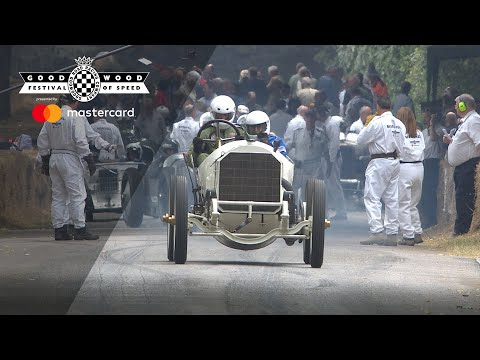 110 year-old Mercedes Grand Prix tackles FOS hill