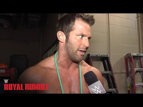his - Zack Ryder claims the