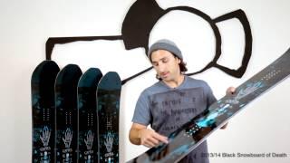 Capita Black Snowboard of Death 2014
