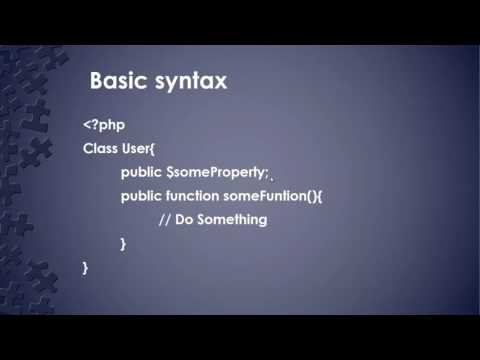 Learn about Object Oriented Fundamentals in PHP - Part 2