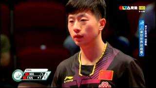 Video 2015 World Cup Ms-Final: MA Long - FAN Zhendong [HD] [Full Match/Chinese] MP3, 3GP, MP4, WEBM, AVI, FLV Juli 2018