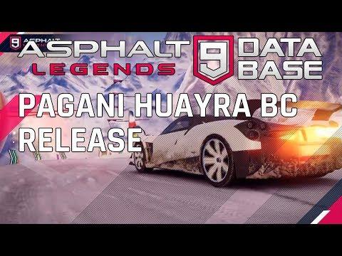 Pagani Huayra BC 드라이브 출시 및 시험