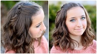 DIY Triple Knot Accents | Hairstyles for Short Hair - YouTube