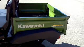 10. 2013 Kawasaki Trans Mule 4010 w top and windshield in Green @ Alcoa Good Times