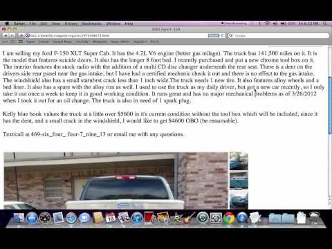 Craigslist Columbus Ohio Used Trucks And Cars Online For ...
