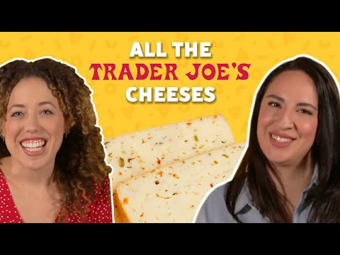 We Tried Almost ALL the Cheese from Trader Joe's | TASTE TEST