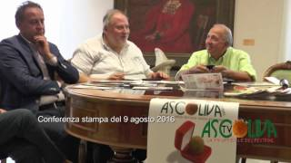Ascoliva Tv, presentazione del festival (seconda parte - il programma culturale)
