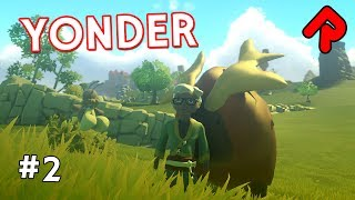 "We repair & build our first Yonder farm! Time to tame a Groffle in Let's play Yonder: The Cloud Catcher Chronicles gameplay ep 2.► Subscribe: http://bit.ly/RandomiseUser► Patreon exclusives: https://www.patreon.com/randomiseuserSet on a giant island of many biomes, Yonder The Cloud Catcher Chronicles is a non-violent RPG where you get shipwrecked on an island. Watch ep 1: https://www.youtube.com/watch?v=3S2eClxsH8QWe continue our Let's play Yonder The Cloud Catcher Chronicles gameplay series by completing our fishing quest from last time, which indirectly allows us to start our first farm.Our Yonder farm has to have the Murk removed first, which teaches us more about how the sprites work. We then repair the farm, and start building it properly by adding animal pens and feeding stations.Then we go and find our first animal - one of the Groffle that roam the grasslands - and tame it using crafted seeds. We also complete a couple of other quests that set us up for future storyline quests!Yonder The Cloud Catcher Chronicles is out now for Steam PC and PS4.=====Thanks for watching this let's play Yonder: The Cloud Catcher Chronicles gameplay video! Watch more of the best indie games:My Time in Portia - RPG similar to Yonder: https://www.youtube.com/watch?v=SwyDtJnn-IoPhantom Trigger - Difficult hack 'n' slash alpha: https://www.youtube.com/watch?v=1wJvsePrSV8Ashworld - drive to survive a pixel-art wasteland: https://www.youtube.com/watch?v=bP54ctklovc=====Official Yonder: The Cloud Catcher Chronicles gameplay info:""Yonder: The Cloud Catcher Chronicles is an an open-world adventure game set across a beautiful, vibrant island.Yonder is set on the massive island of Gemea, a lush frontier with eight distinct environments ranging from sunny tropical beaches to frigid snow-capped summits. Each location has its own flora and fauna, along with changing seasons and a day-night cycle. Gemea, once a paradise, still maintains the appearance of one, yet an evil murk has enshrouded the land and its people in despair.By contributing to the island through talents like farming, crafting, cooking, fishing and brewing, relationships can be built with the locals, who offer everything from resources to a new farm as rewards.""Game version: PC Yonder: The Cloud Catcher Chronicles release date: 18 July 2017Formats available: PC Windows, PS4Yonder game site: https://www.yonderchronicles.com/Buy Yonder download on Steam: http://store.steampowered.com/app/580200/Yonder_The_Cloud_Catcher_Chronicles/=====Randomise User is the home of the best indie games:► Watch Let's Play one-offs for the best new games: https://www.youtube.com/playlist?list=PLLvo6-XrH1fnvqfQI4mhyXJu5Y7hcS5vC► Watch Alpha Soup for your first look at games: https://www.youtube.com/playlist?list=PLLvo6-XrH1flWq5KRBP8GhUqcGxJT5cPB► Watch Weird Indie for strange & funny gameplay: https://www.youtube.com/playlist?list=PLLvo6-XrH1fmiyuOquPzGzqUFasi7iy7x► Subscribe here: http://bit.ly/RandomiseUser► Live streams: https://www.youtube.com/c/randomiseuser/live► Support us on Patreon: https://www.patreon.com/randomiseuser► Follow us on Twitter: https://twitter.com/RandomiseUser"
