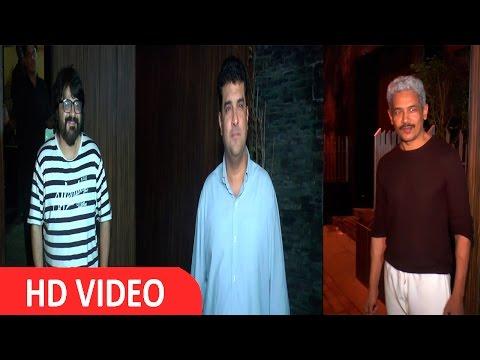 Siddharth Roy Kapur & Other Celebs At Screening Of Aamir Khan Upcoming Movie Dangal