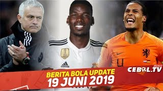 Video Jose Mourinho Latih Tim Nasional 🔴 Pogba Dianggap Perusuh Tim 🔴 Van Dijk  Melempem Di Timnas MP3, 3GP, MP4, WEBM, AVI, FLV Juni 2019