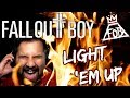 FALL OUT BOY - My Songs Know What You Did In The Dark (Light 'Em Up) - Cover by Caleb Hyles
