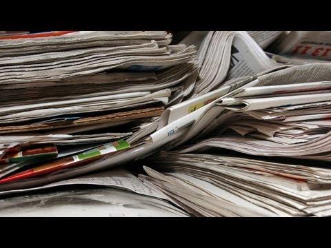 come riciclare la carta e riutilizzarla