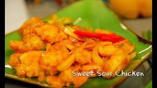 Masak On Sarah with Chef Sandra – Sweet Sour Chicken