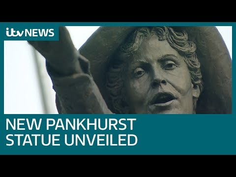 Statue of suffragette Emmeline Pankhurst unveiled in home city | ITV News
