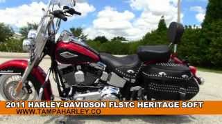 7. Used 2011 Harley Davidson FLSTC Heritage Softail For Sale Price Specs