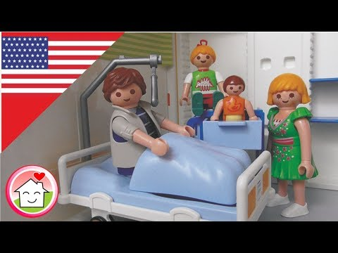 Playmobil Daddy Goes to the Hospital - children's film from The Hauser Family