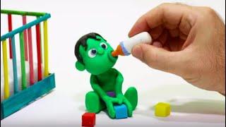 QUÉ MONO ES EL SUPERHÉROE BEBÉ Dibujos Animados para niños y bebés!!! 💚 dibusYmas