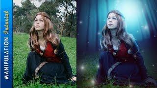 Photoshop Manipulation Tutorial Effects: Magic Forest