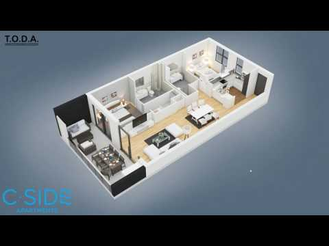 Real Estate Property Presentation for Sales Office Touch Screen Devices on Unity3D