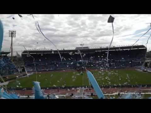 Recibimiento  a BELGRANO  vs clásico  rival - Los Piratas Celestes de Alberdi - Belgrano