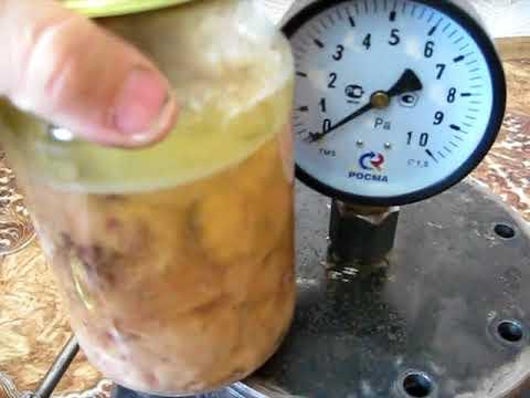 Как сделать автоклав для консервирования своими руками