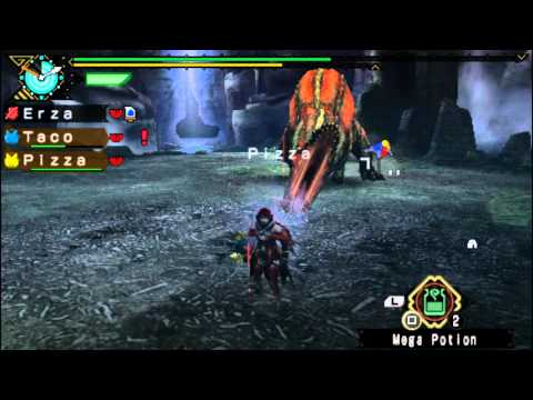 Let's Play Monster Hunter Portable 3rd PSP Part 54 Deviljho