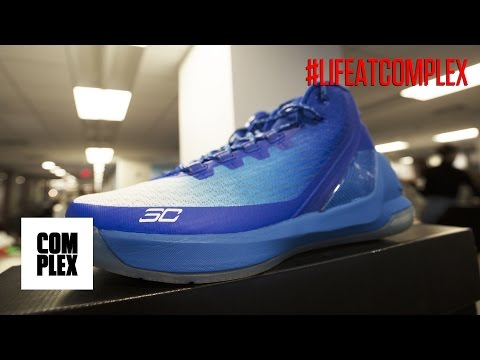 STEPH CURRY PLAYER EXCLUSIVE SNEAKER PERFOR