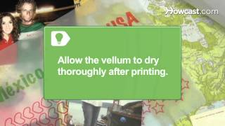How to Use Vellum with Scrapbooking