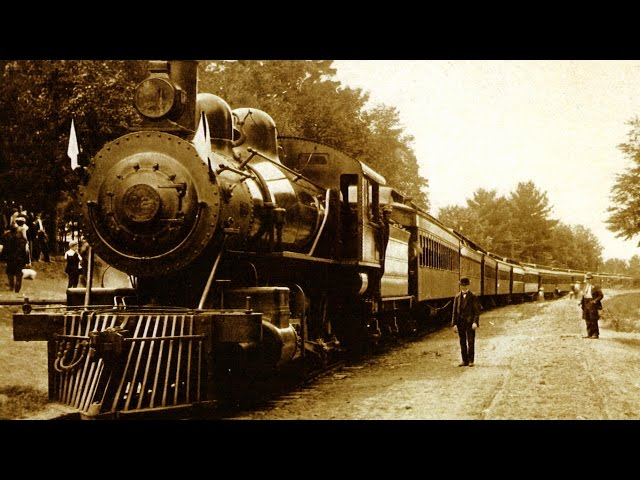 The  First  Train  Robbery  in  the  United  States,  North  Bend,  Ohio