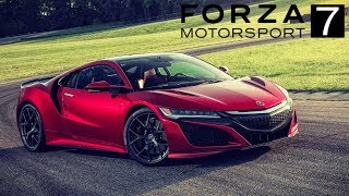 8. FORZA 7 - 2017 Acura NSX REVIEW