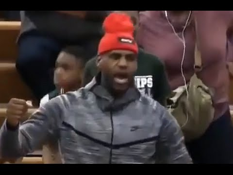 LeBron James Reacts to His Son Keeps Dazzling!