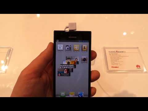 Huawei Ascend P2 - smartfon z najszybszym LTE - hands-on