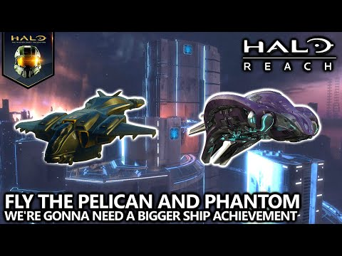 Halo Reach - Pelican and Phantom Easter Egg - We're Gonna Need a Bigger Ship Achievement Guide