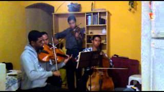 Hino Novo  24  Hinário 5 ; Dá-me Graça, Senhor;  (  Por Quarteto De Cordas Da CCB )