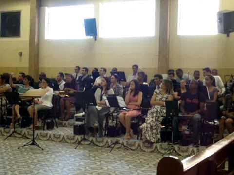 Quarteto Adoração em Araras,na igreja Assembleia de Deus min,Belem