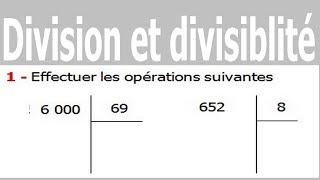 Maths 6ème - Division et divisibilité Exercice 11