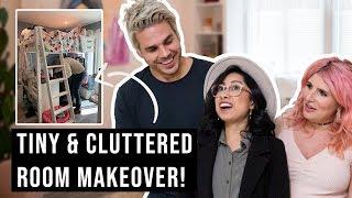 Video Tiny and Cluttered Bedroom Makeover! MP3, 3GP, MP4, WEBM, AVI, FLV Juli 2019