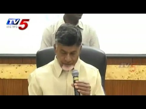 Chandrababu Talks to Media over Cyclone Relief Works Updates : TV5 News