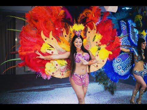 Бразильское шоу Crazy Samba на свадьбе, интерактив, кубинское шоу, интерактив со зрителями