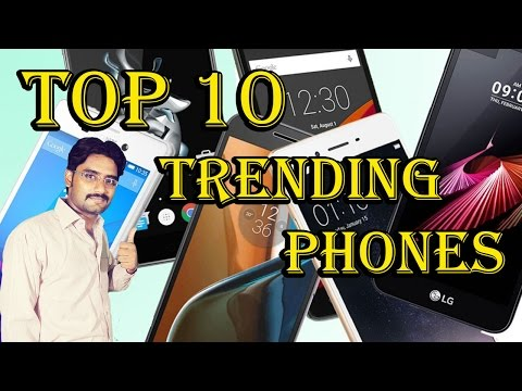 Top 10 Trending Phones of the week: