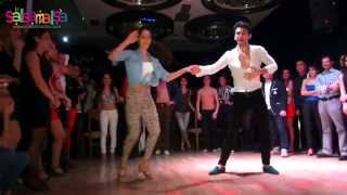 ANGRY BIRDS SALSA SHOW! SALSA BATTLE IN ISTANBUL'13 |