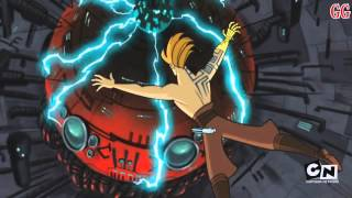 This is a Cartoon Network Micro-Mini Series from 2003-2005. It takes place in between Star Wars Episode 2 Attack of the Clones and Revenge of the SithThis is Season 3 Episode 5Episode Description: Shaak Ti takes a desperate stand against Grievous' Magnaguards. Anakin, surrounded by mutated Nelvaan Warriors, must destroy the geothermal crystal powering the siphon generator. Mace Windu hurries to face General Grievous. This episode's end marks the the beginning of Episode III: Revenge of the Sith.
