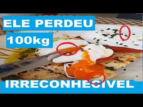 ELE QUEIMOU 100kg e CHOCOU OS FAMILIARES! Quitoplan Dieta Para Emagrecer