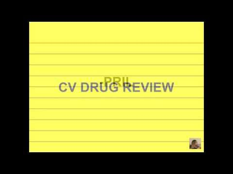NCLEX-RN Cram 2016│ Pharmacology Final Exam Review│ Cardiovascular Drugs (World - wide review