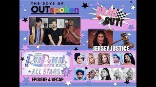 OUTspoken DRAG OUT! RuPaul's Drag Race All Stars 4 RECAP Episode 4