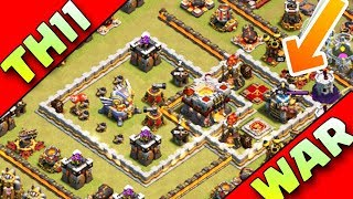 Video THIS BASE CAN SAVE YOU IN WARS | TH11 WAR BASE ANTI 2 STAR |ANTI BOWITCH MP3, 3GP, MP4, WEBM, AVI, FLV Agustus 2017