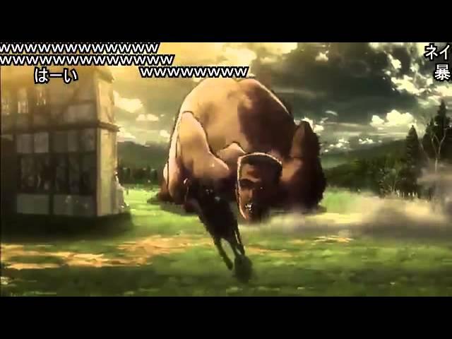 【コメント付き】カップヌードルCM【進撃の巨人】【MAD】