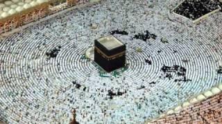 صلاة الاستسقاء مع الخطبة من الحرم المكي 4/12/1432 هــ