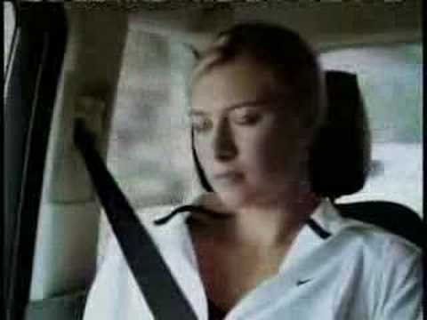 Maria Sharapova - Comercial de Nike